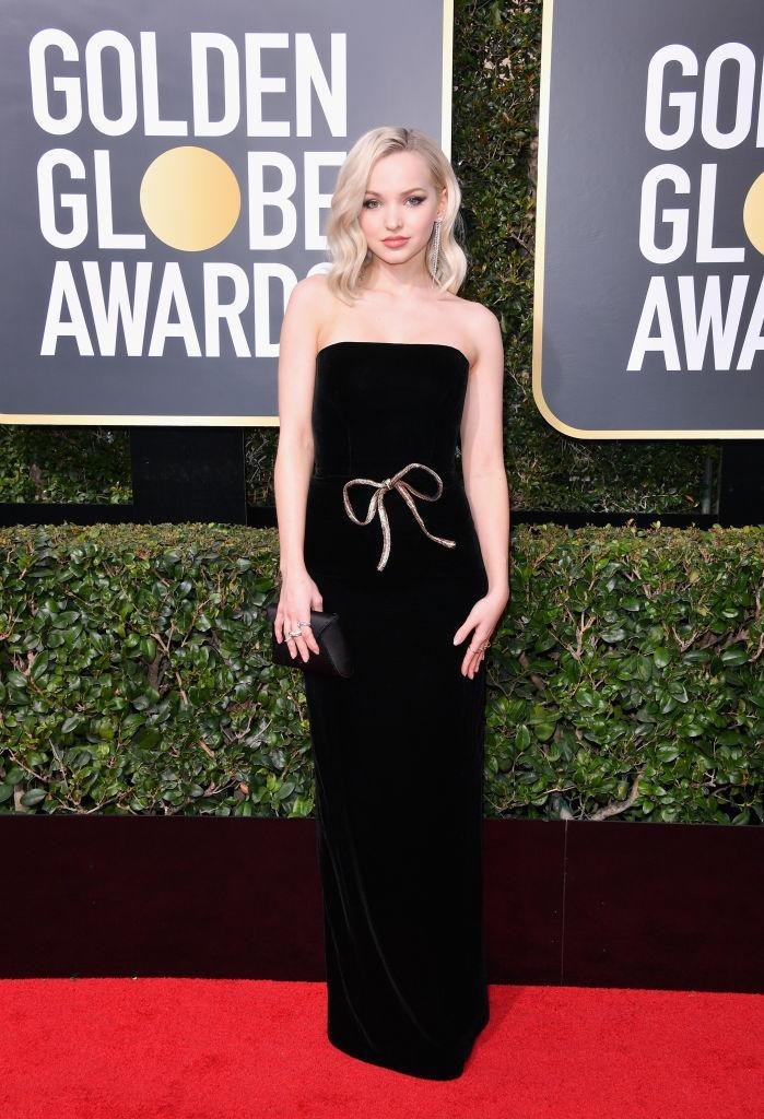<p>The Disney Channel alum attends the 75th Annual Golden Globe Awards at the Beverly Hilton Hotel in Beverly Hills, Calif., on Jan. 7, 2018. (Photo: Steve Granitz/WireImage) </p>
