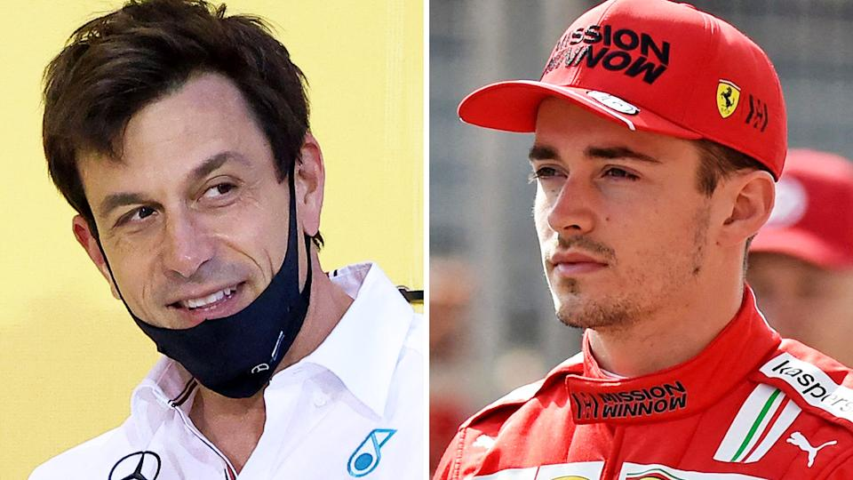 Mercedes boss Toto Wolff has called for a change to qualifying rules after Ferrari star Charles Leclerc won pole at the Monaco Gp, before his later crash meant nobody had a chance to beat his time. Pictures: Getty Images