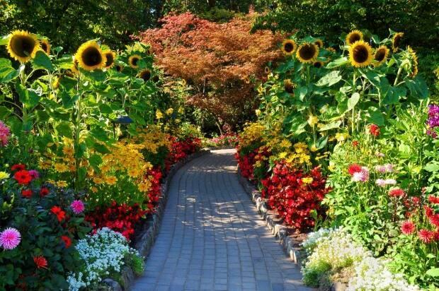 Butchart Gardens outside of Victoria is a major tourist attraction.