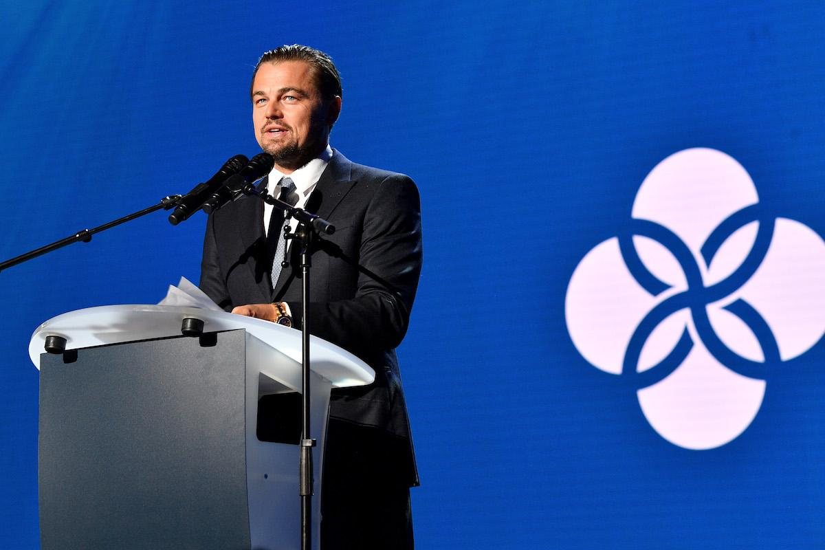 <p>The host of the gala started the night off by addressing the audience of A-listers. (Photo by Venturelli/Getty Images for LDC Foundation) </p>