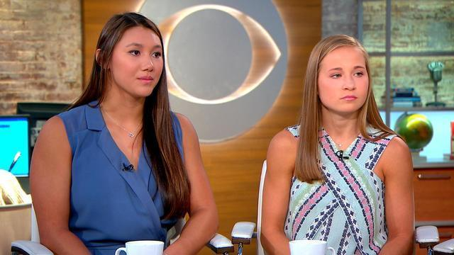 Kyla Ross and Madison Kocian talked about coming to terms with the abuse they experienced from Larry Nassar, and about the frustration they feel with USA Gymnastics. (CBS)