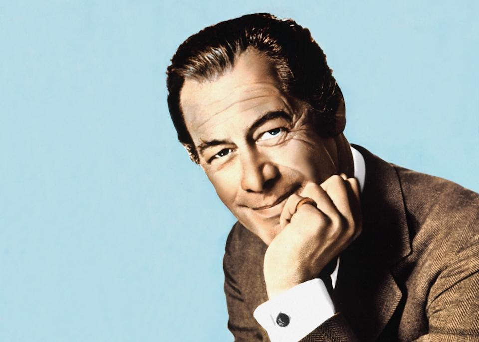 CPKMDA A colour portrait of the film star Rex Harrison pictured in Los Angeles in 1965, biggest male icon