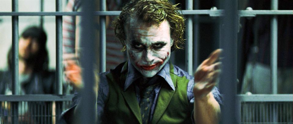 """<p>Thinking about Christopher Nolan's second <em>Batman</em> film is always bittersweet. Heath Ledger's performance as <em>The Joker</em> (for which he won a posthumous Oscar) is so ridiculously good, but it's heartbreaking to think about what he could have done with future roles had he lived. But at least we'll always have this film to watch and remember his talent. — <em>AG</em></p> <p><a href=""""https://www.amazon.com/Dark-Knight-Christian-Bale/dp/B001I189MQ/ref=sr_1_2?dchild=1&keywords=The+Dark+Knight&qid=1592942171&s=instant-video&sr=1-2"""" rel=""""nofollow noopener"""" target=""""_blank"""" data-ylk=""""slk:Stream on Amazon Prime Video"""" class=""""link rapid-noclick-resp""""><em>Stream on Amazon Prime Video</em></a></p>"""
