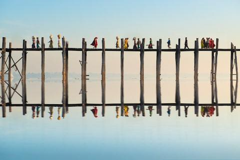 Photogenic U Bein Bridge - Credit: getty
