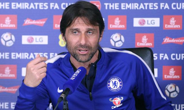 Antonio Conte discusses Chelsea's FA Cup prospects before Sunday's semi-final against Southampton.