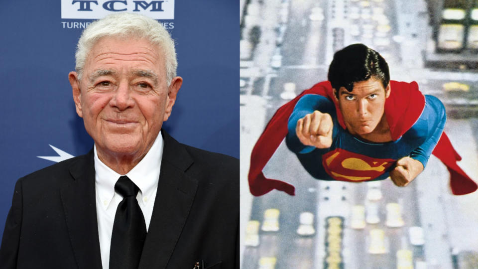 Richard Donner directed the original 'Superman' film in 1978. (Credit: Michael Kovac/Getty Images for AFI/Warner Bros)