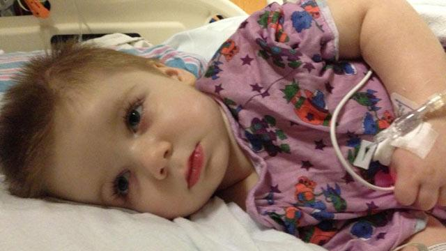 Sandy Toddler Battles Deadly Infection
