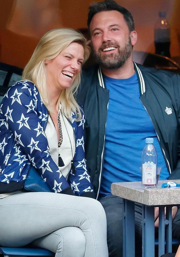 Ben and his current squeeze Lindsay Shookus. Source: Getty