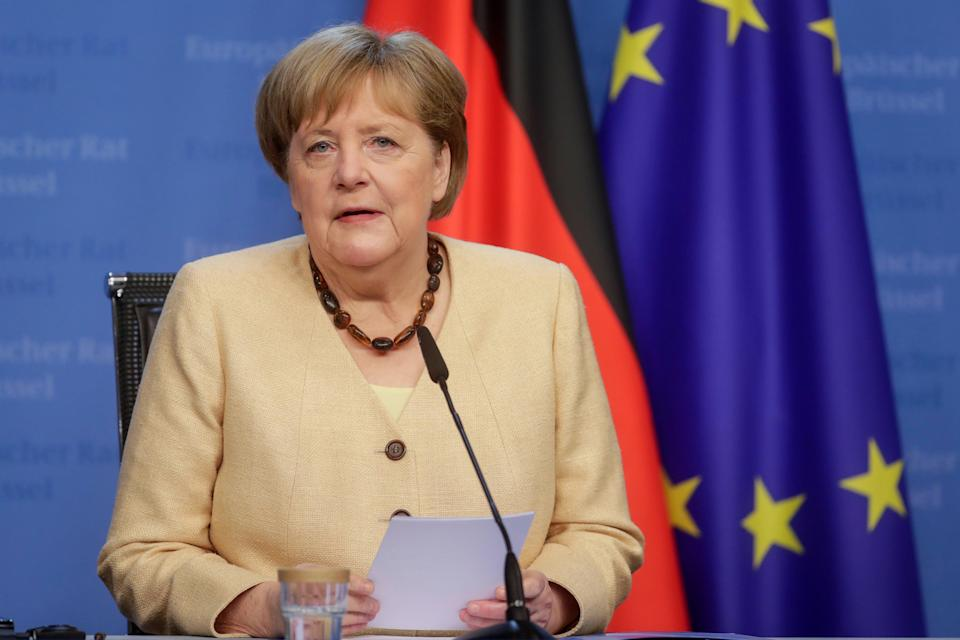 'Angela Merkel wants to quarantineUK travellers, but a decision taken anywhere is a decisionaffectingliveseverywhere' (AP)