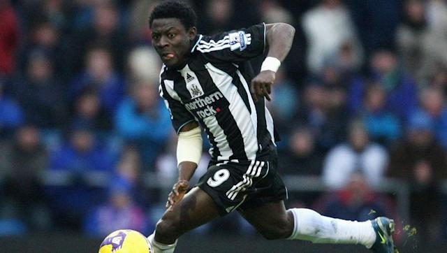 <p>Scored for: <strong>Newcastle United</strong> (Premier League), <strong>Levante </strong>(La Liga), <strong>VfL Wolsburg</strong> (Bundesliga) and <strong>Inter Milan</strong> (Serie A)</p> <br><p>Another appearance for the Magpies, who spent €15m on the powerful Nigerian striker, after he had broken through the ranks at Inter Milan during the early 2000s. Martins spent three seasons on Tyneside, where he incredibly finished with the same league stats from his time in Italy; 28 goals in 88 games.</p> <br><p>He continued to find the goal during a single season in the Bundesliga with Wolfsburg, before moving to Russia and returning to the Premier League on loan with Birmingham City. Another clinical season with Levante in Spain preceded his moves to the MLS and then China.</p>