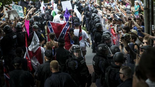 University of Virginia cancels athletic events in wake of Charlottesville violence