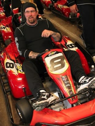 Rob Dibble will have more time to pursue go kart racing in his post-coaching days — Twitter