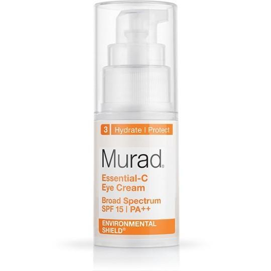 "<p>Despite it's lower SPF, this one felt most like a sunscreen with a white application that rubbed in for a dewy finish. It may be my imagination, but the formula felt a bit cool on contact, and was pleasant to wear out in the blazing sun. <a href=""http://www.murad.com/essential-c-eye-cream"" rel=""nofollow noopener"" target=""_blank"" data-ylk=""slk:Murad Essential-C Eye Cream Broad Spectrum SPF 15"" class=""link rapid-noclick-resp"">Murad Essential-C Eye Cream Broad Spectrum SPF 15 </a> ($69)</p>"