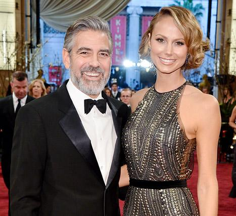 """Stacy Keibler """"Didn't Discuss"""" Marriage With George Clooney, Is """"Doing Great"""" Post-Split"""