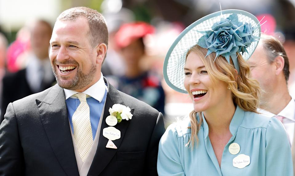 ASCOT, UNITED KINGDOM - JUNE 22: (EMBARGOED FOR PUBLICATION IN UK NEWSPAPERS UNTIL 24 HOURS AFTER CREATE DATE AND TIME) Peter Phillips and Autumn Phillips attend day five of Royal Ascot at Ascot Racecourse on June 22, 2019 in Ascot, England. (Photo by Max Mumby/Indigo/Getty Images)