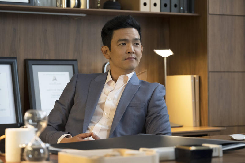 John Cho as Todd on 'Difficult People' (Photo: Linda Kallerus/Hulu)
