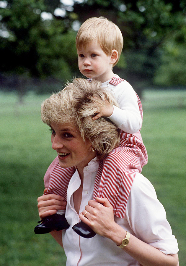 Prince Harry is said to have proposed with a diamond from his mother's bracelet. Photo: Getty