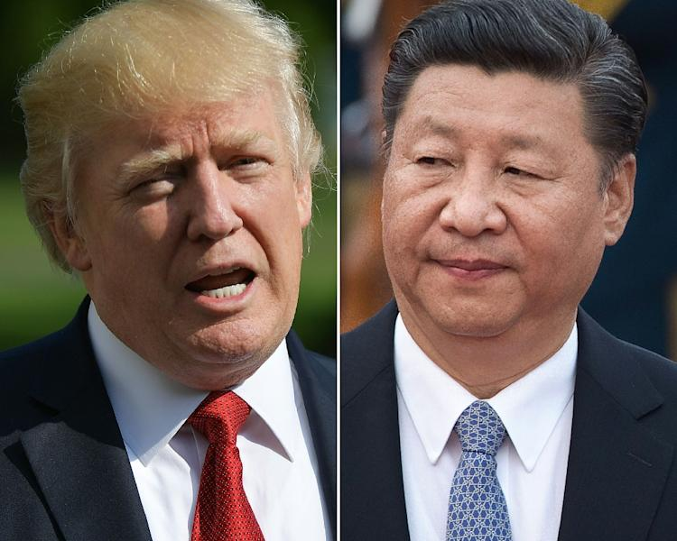 US President Donald Trump and China's Xi Jinping could meet in June 2019 on the sidelines of the G20 summit in Japan to talk trade, a top White House aide says (AFP Photo/MANDEL NGAN, NICOLAS ASFOURI)