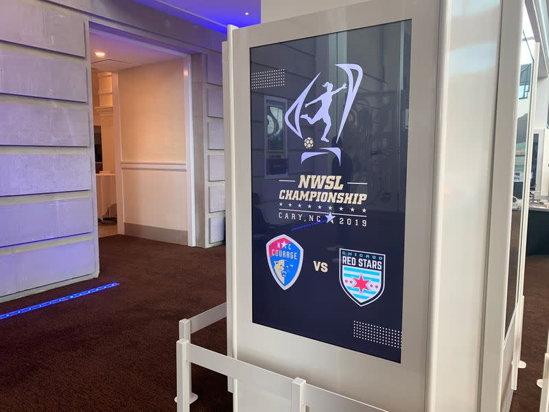Players can stay in locker rooms during anthem: U.S. women's soccer league