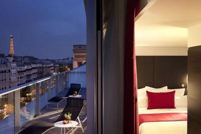 In Paris, the brand's six hotels will throw an exclusive party at the sought-after Salon Gustave Eiffel in the Eiffel Tower, boasting rare and exceptional views of the city.