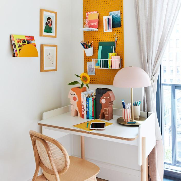 Kids' home workspaces are just as important as adults' in the age of COVID-19, and this one's got everything a studious teen could ask for.