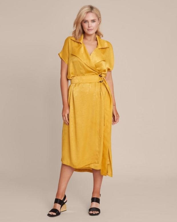 "<p>Juan Carlos Obando Sleeveless Trench Dress, $995, <a href=""https://rstyle.me/+NNnffLEN77Kpccy67v-L6A"" rel=""nofollow noopener"" target=""_blank"" data-ylk=""slk:available here"" class=""link rapid-noclick-resp"">available here</a> (sizes 14-22).</p>"