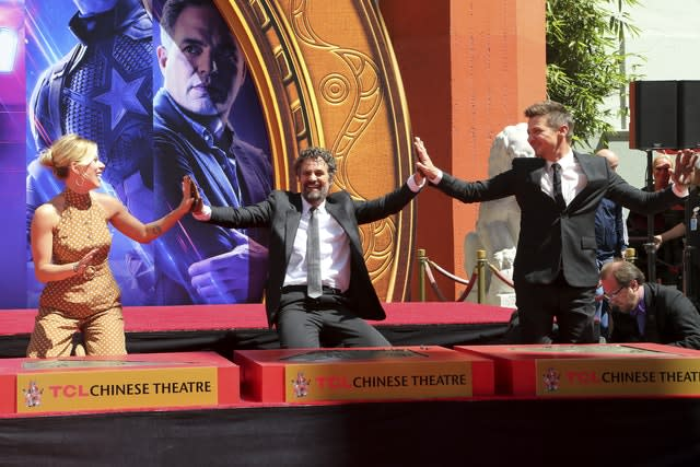 "The Cast of ""Avengers: End Game"" Hand and Footprint Ceremony"