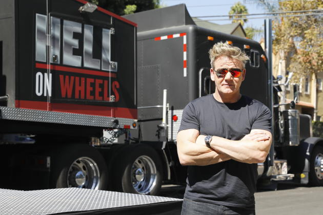 "Gordon Ramsay and his ""Hell on Wheels"""