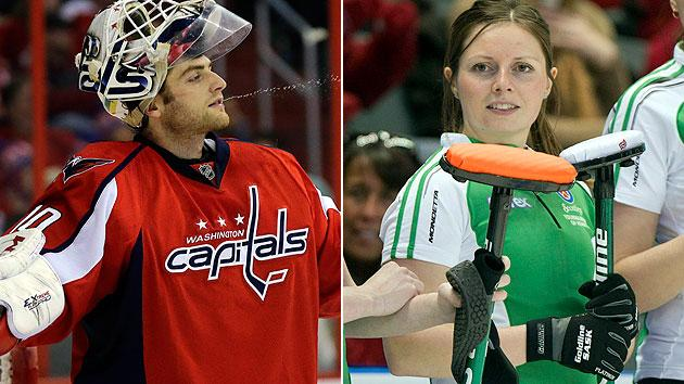 Scotties Tournament Of Hearts Nhl Goaltender Braden Holtby Manages To Keep Tabs On Big Sister