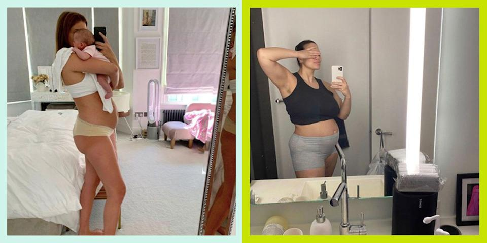 <p>Women in the spotlight are under an immense amount of pressure to look a certain way. So when you add pregnancy into the mix, how does this make them feel about their changing bodies? Here are 19 celebrities who have shared photographs and spoken candidly about it...</p>