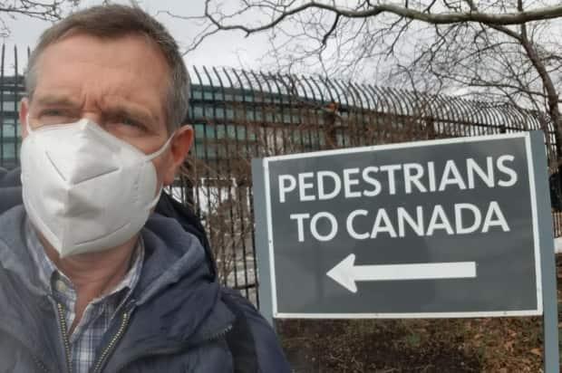Since the three-day hotel quarantine rule took effect in February, Peacock has walked across the border into Canada twice on his way home from Los Angeles, where his wife lives.