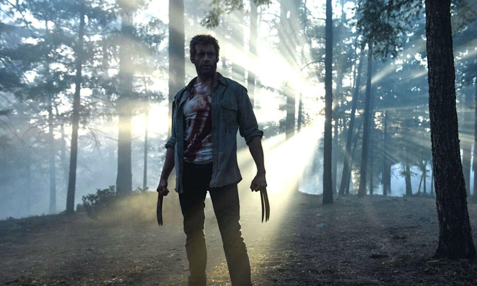 A fine example of what makes a great superhero movie, James Mangold delivers premium storytelling which does more justice to the tone and feel of the comic book run its based on, <em>Old Man Logan</em>, than any other in the franchise. Jackman is in his element as a dying Logan tasked with delivering a young mutant to safety in a world where they are practically extinct. It's brooding, brutal and bloody emotional so the perfect farewell to such an iconic character. (Credit: 20th Century Fox)