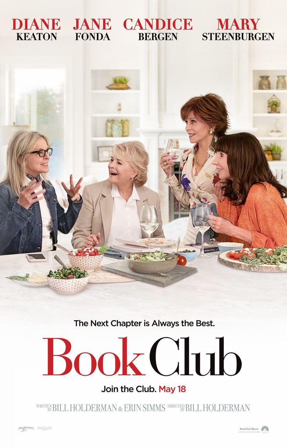 """<p><a class=""""link rapid-noclick-resp"""" href=""""https://www.amazon.com/Book-Club-Diane-Keaton/dp/B07CYTJWR2/?tag=syn-yahoo-20&ascsubtag=%5Bartid%7C10050.g.25810122%5Bsrc%7Cyahoo-us"""" rel=""""nofollow noopener"""" target=""""_blank"""" data-ylk=""""slk:STREAM NOW"""">STREAM NOW</a></p><p>Diane Keaton, Jane Fonda, Candice Bergen, and Mary Steenburgen tackle <em>50 Shades of Grey </em>with knee-slapping results. </p>"""