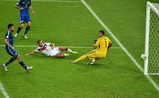 Mario Goetze scored the winning goal in the 2014 World Cup final for Germany against Argentina