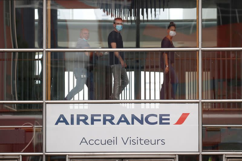 FILE PHOTO: Air France cuts jobs in pandemic-driven shakeup