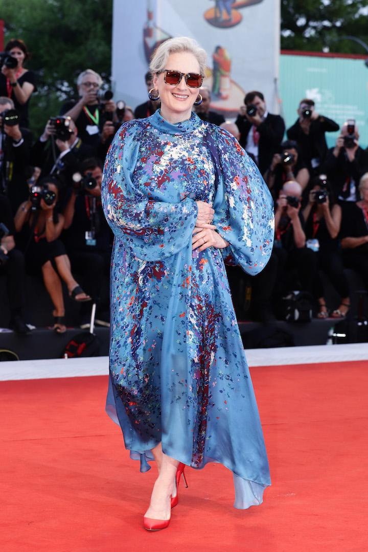 The Hollywood heavyweight stole the red carpet best dressed crown at the premiere of 'The Laundromat' in a playful Givenchy frock. <em>[Photo: Getty]</em>