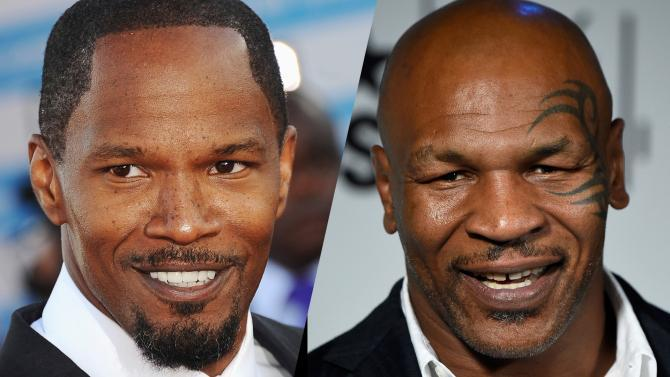 Jamie Foxx Mike Tyson Terence Winter