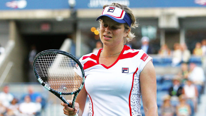 Kim Clijsters' return to tennis has suffered a set back. (Getty Images)