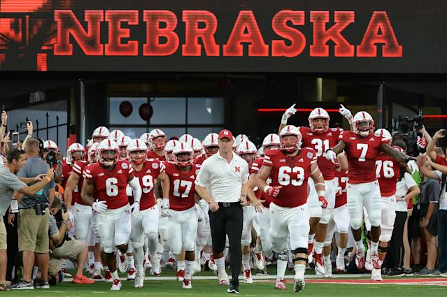 Nebraska starts the Scott Frost era at 0-1 after losing to Colorado. (Getty)
