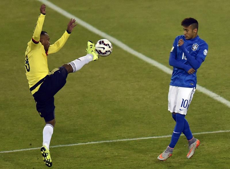 Neymar awaits Copa fate after Brazil crash to Colombia