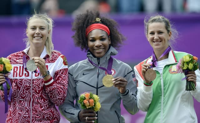 Two months later, the Russian won a silver medal at the 2012 Olympic Games in London (Rebecca Naden/PA)