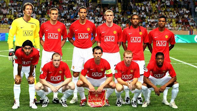 Manchester United Final UEFA Super Cup 2008