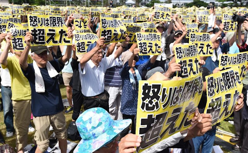 The case has intensified longstanding local opposition to the American military presence on Okinawa