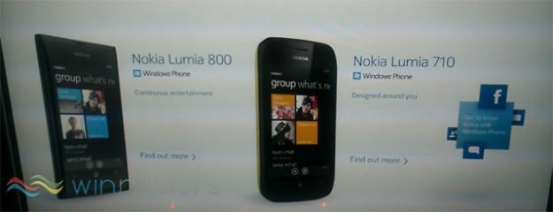 Photos of Nokia's first Windows Phone Mango handsets leaked