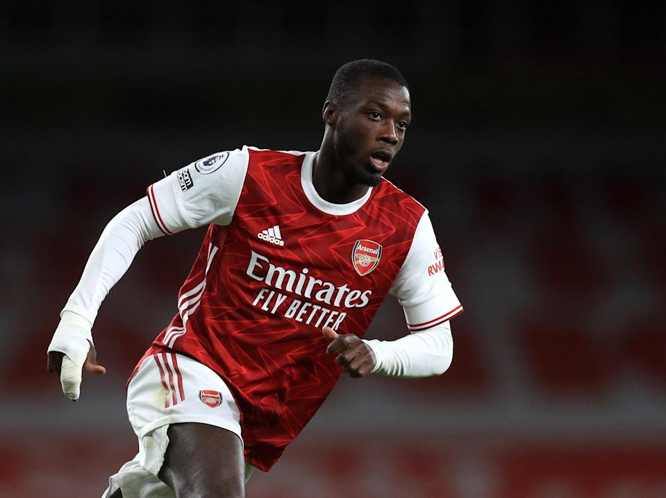 Arsenal winger Nicolas Pepe (Getty Images)
