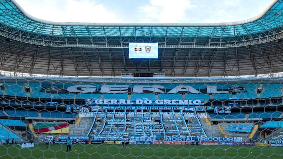Gauchão na Arena do Grêmio. | Pool/Getty Images