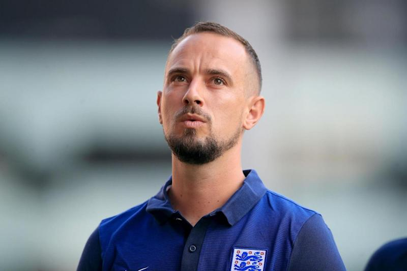 England manager Mark Sampson, who was sacked last month. (PA)