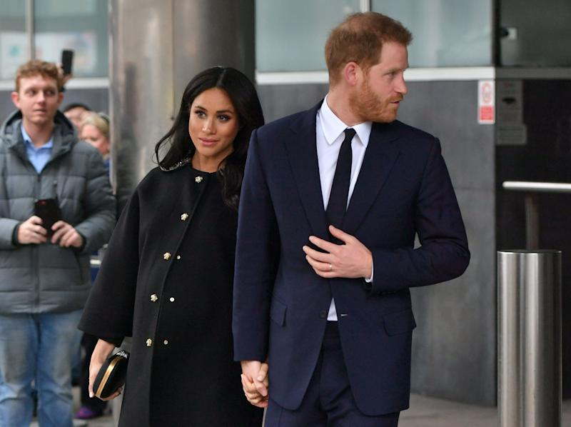 Meghan's last public engagement at New Zealand House on March 19, 2019 [Photo: PA]