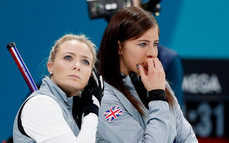 GB lose their curling semi-final but still have a bronze medal match on Saturday - REUTERS