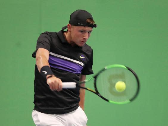 Aidan McHugh in practice at Scotstoun Leisure Centre (Getty)